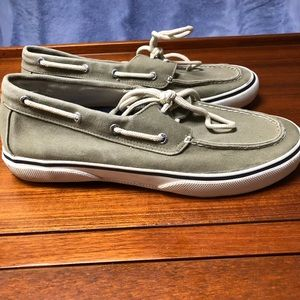 Men's Sperry Top-Siders Canvas Boat Shoes